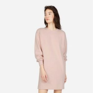Everlane The Classic French Terry Crew Neck Dress